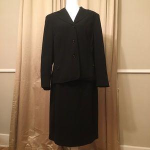 Worthington Black business suit